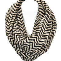 Latte Luxury Infinity Scarf