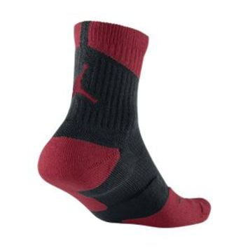 Nike Air Jordan Dri-FIT High Quarter Basketball Socks - Black
