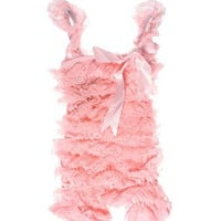 juDanzy Lace & Satin Petti Rompers for babies & toddler girls