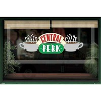 Friends (Central Perk Window) Poster