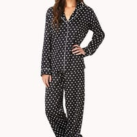 Retro Polka Dot PJ Set