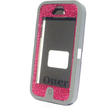 Otterbox Defender Case AP Pink Realtree Camo iPhone 5 Glitter Cute Sparkly Bling Defender Series Custom Case Tourmaline/ Pink Realtree
