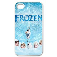 Theme of Frozen New Style Design Printed Hard Cover Case for iPhone 4 4S