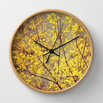 trees Wall Clock by ingz
