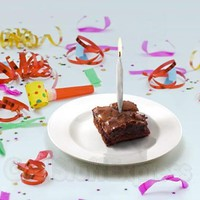 Doobie Set of Eight Novelty Birthday Candles, Fun & Unique Gifts