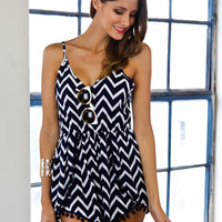 OUT TO SEA PLAYSUIT