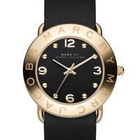 MARC BY MARC JACOBS 'Amy' Leather Strap Watch