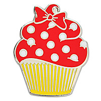Disney Character Cupcake Pin Set - 7-Pc