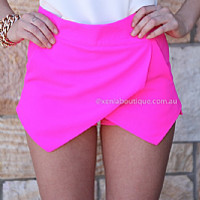 CHARLOTTE FREE SKORT , DRESSES, TOPS, BOTTOMS, JACKETS & JUMPERS, ACCESSORIES, 50% OFF SALE, PRE ORDER, NEW ARRIVALS, PLAYSUIT, COLOUR, GIFT VOUCHER,,SHORTS,Pink Australia, Queensland, Brisbane