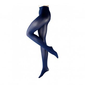 FALKE PURE MATT 50 DEEP BLUE TIGHTS