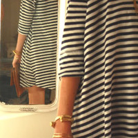 sirenlondon — So Stripe Smock Dress