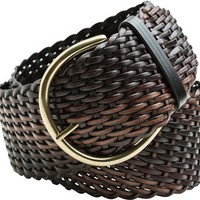ANGIE KENDRA BRAIDED WIDE BELT
