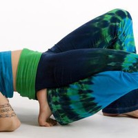 Organic Yoga Pants Ultimate Freedom - Boundless/blue (medium)