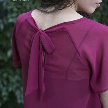Scarlett Bow Blouse