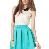 Letta Skirt in Jade - ShopSosie.com