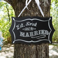 Wedding Chalkboard Sign, Chalkboard Sign
