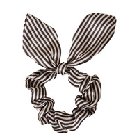 Small Stripe Scrunchie