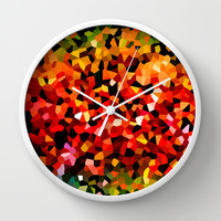 UNSAID Wall Clock by catspaws