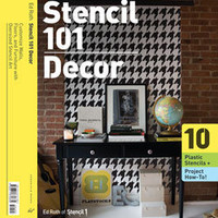 Stencil 101 Decor: Chronicle Books