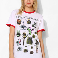Blackstone Cactus Ringer Tee - Urban Outfitters