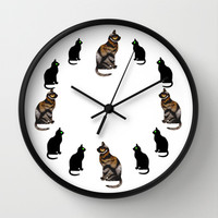 CAT TIME Wall Clock by catspaws