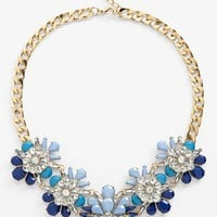 Cara Stone & Crystal Bib Necklace | Nordstrom
