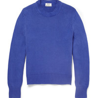 Acne - Chet Knitted-Cotton Sweater | MR PORTER