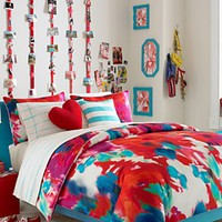 CLOSEOUT! Teen Vogue Poppy Art Comforter Set