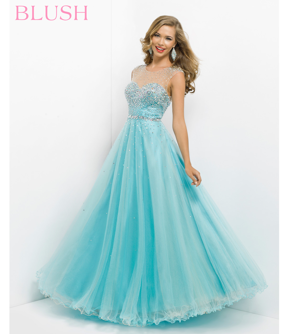 Perfect blue prom dress