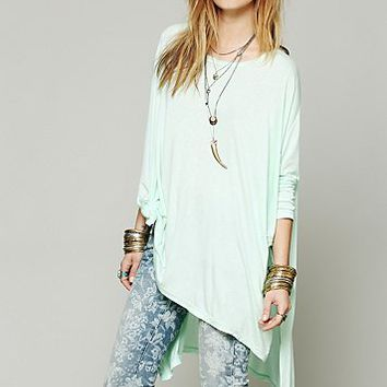 Free People Womens Big Dipper Oversized Tee