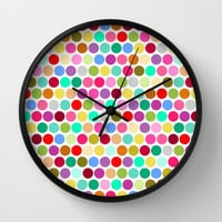 dotty Wall Clock by musings