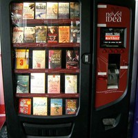 Vending Machines for Books - Novel Idea Dispenses Literature Via Touchscreen