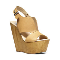 Steve Madden - PLUNGEE COGNAC LEATHER