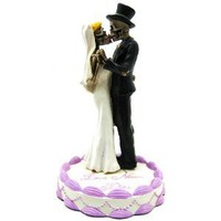 Wedding Skulls - Collectible Figurine Statue Sculpture Figure Skeleton