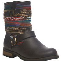 Multi-Color Yarn Boot | Wet Seal