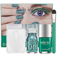 NAILS INC. Bling It On Emerald Kit