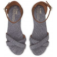 Blue Chambray Women's Correa Sandals