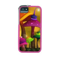 Whimsical Mushrooms Graft iPhone 5/5S Case