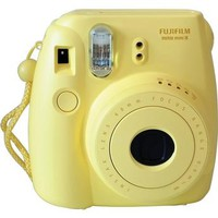 FujiFilm Instax Mini 8 Instant Film Camera - Yellow