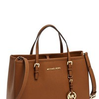 MICHAEL Michael Kors 'Jet Set – East/West' Saffiano Leather Tote, Medium | Nordstrom