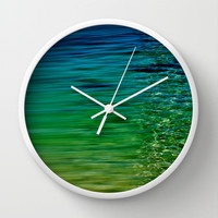 TREBLE SEA Wall Clock by catspaws