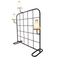 Jean Royère Room Divider and Luminaire