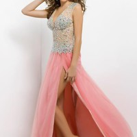 Blush 9729 at Prom Dress Shop