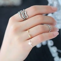 Cute two-headed snake ring opening [kz70-2] - $1.99 : Favorwe.com Supply all kinds of cheap fasion jewelry
