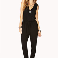 Chic Surplice Jumpsuit