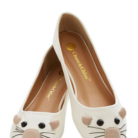 Mouse Party Flat | Mod Retro Vintage Flats | ModCloth.com