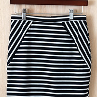 Stripe-y Ways Skirt (Look behind!)
