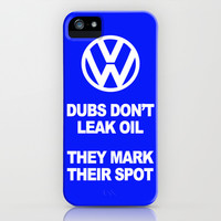 VW Mark the Spot iPhone & iPod Case by Alice Gosling