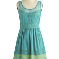 Blue Skies Ahead Dress | Mod Retro Vintage Dresses | ModCloth.com