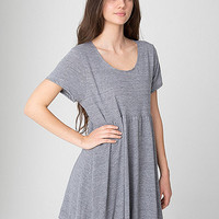 Tri-Blend Babydoll Dress